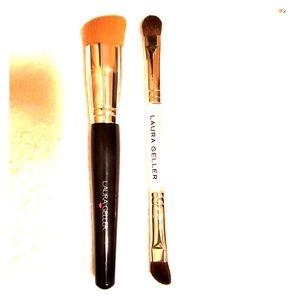 Laura Geller makeup brushes